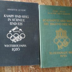 Militaria: LIBROS DE LAS OLIMPIADAS DE 1936. Lote 214248643