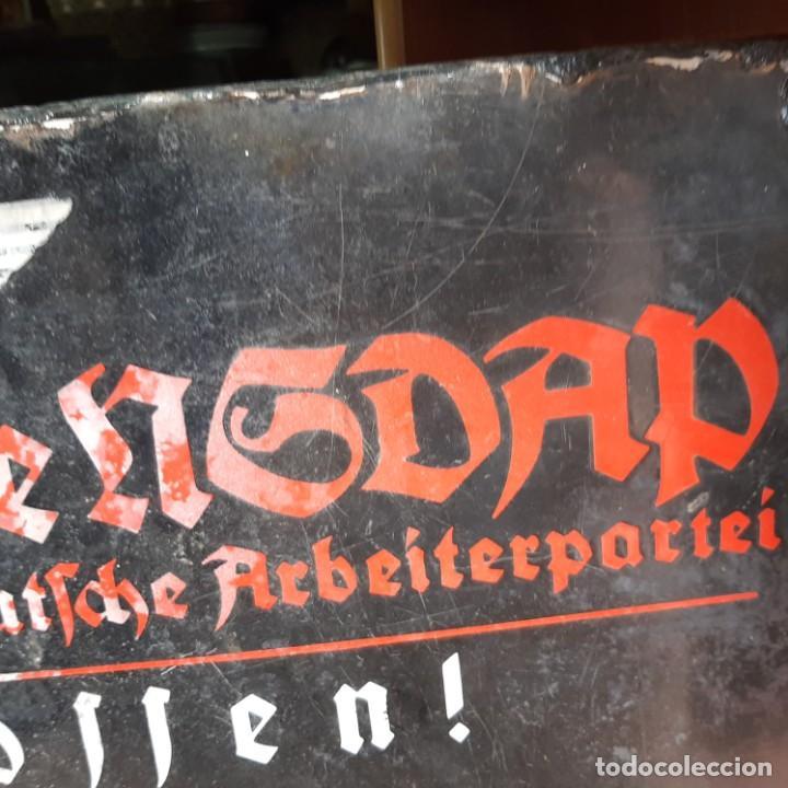 Militaria: Placa esmaltada de Jefatura local de NSDAP - Foto 3 - 214621477