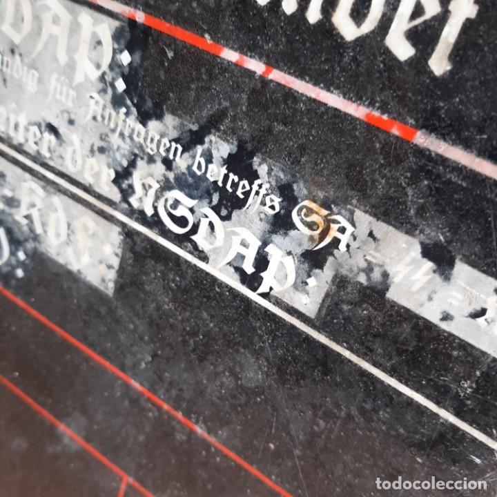 Militaria: Placa esmaltada de Jefatura local de NSDAP - Foto 4 - 214621477
