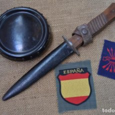 Militaria: CUCHILLO COMBATE ALEMAN DIVISION AZUL. Lote 214818870