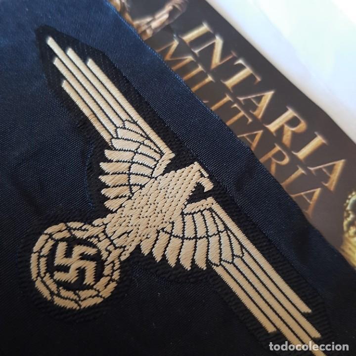 AGUILA DE BRAZO EN TELA SS (Militar - II Guerra Mundial)