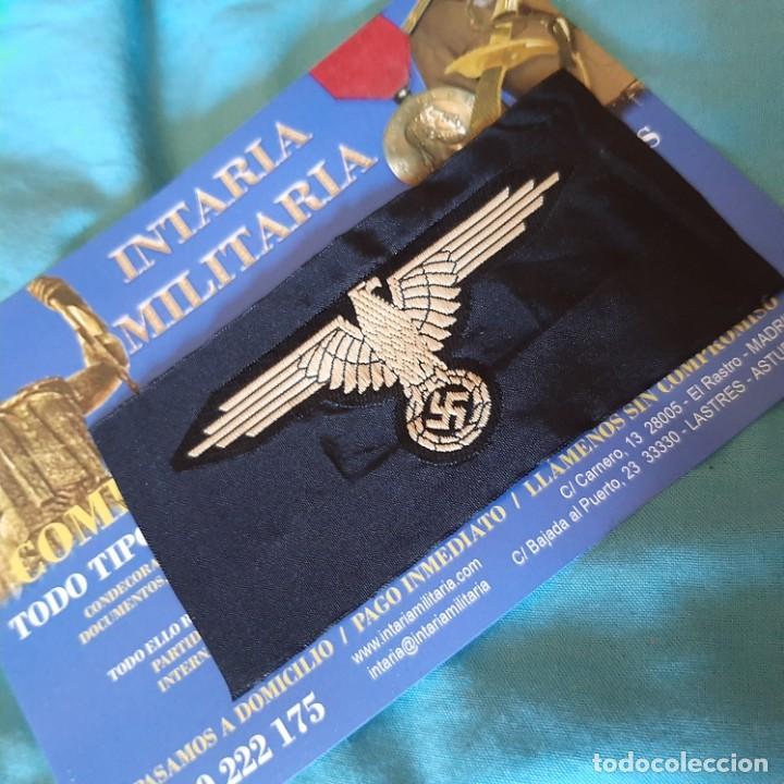 Militaria: Aguila de Brazo en tela SS - Foto 3 - 215075030