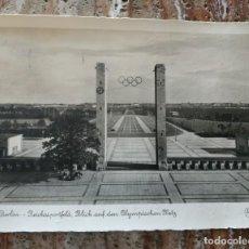 Militaria: POSTAL DE LAS OLIMPIADAS DE 1936. Lote 215412252