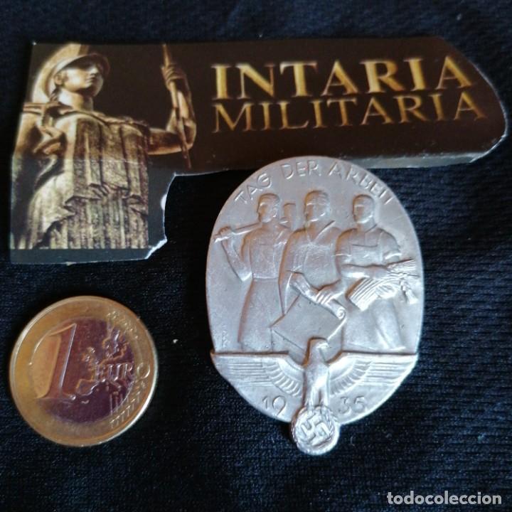 DISTINTIVO ALEMAN DE DÍA DEL TRABAJO (Militar - II Guerra Mundial)