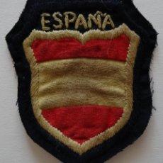 Militaria: PARCHE DE BRAZO BOCAMANGA DE LA DIVISIÓN AZUL. Lote 97107874