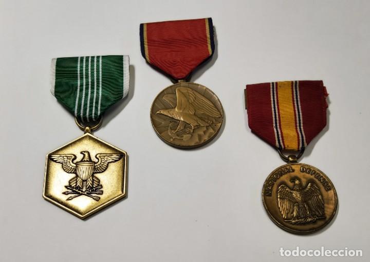 3 MEDALLA DE ESTADOS UNIDOS.SEGUNDA GUERRA MUNDIAL (Militar - II Guerra Mundial)