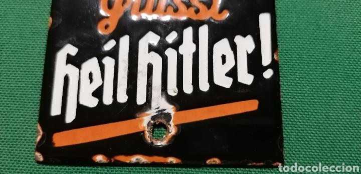 Militaria: Cartel de porcelana Alemania - Foto 4 - 217917273