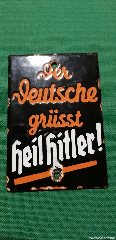 Militaria: Cartel de porcelana Alemania - Foto 5 - 217917273
