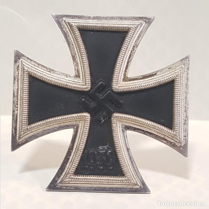 CRUZ DE HIERRO DE PRIMERA CLASE. MARCADA L11. NAZI. III REICH. (Militar - II Guerra Mundial)
