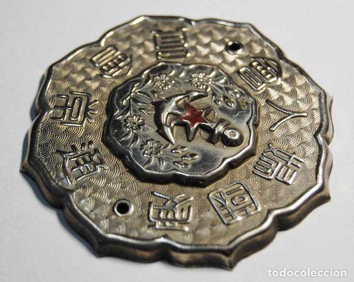 Militaria: PLACA DE PUERTA.MIEMBRO LIGA MUJERES PATRIOTAS MARINA DE JAPON.2ª GUERRA MUNDIAL - Foto 3 - 218283060