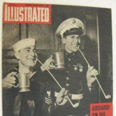 Militaria: REVISTA BRITANICA 2ª II GUERRA MUNDIAL ILLUSTRATED ,14 MARZO 1942. Lote 218370551