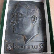 Militaria: PLACA PROPAGANDÍSTICA DE ADOLFO HITLER. Lote 218661272
