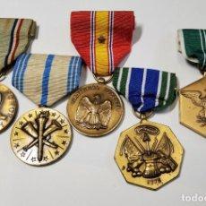Militaria: LOTE DE MEDALLAS DE ESTADOS UNIDOS. SEGUNDA GUERRA MUNDIAL TODAS ORIGINALES. Lote 219265585