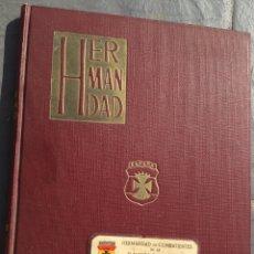 Militaria: LIBRO CON 9 REVISTAS HERMANDAD DIVISIÓN AZUL,DIVISIONARIO,CON CARNET QUE SALE EN LIBRO,HITLER,NAZI. Lote 219383482