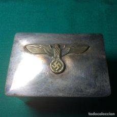 Militaria: CAJA ALEMANA ORIGINAL A IDENTIFICAR. Lote 219427362
