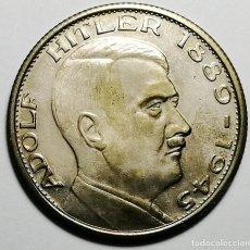 Militaria: MONEDA DE PLATA NAZI. ADOLF HITLER 1889 - 1945. EIN VOLK EIN REICH EIN FÜHRER.. Lote 220327677
