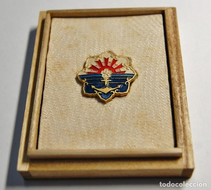 Militaria: ASOCIACION NAVAL DE JAPON.AL MERITO en ACORAZADOS DE COMBATE.2ª GUERRA MUNDIAL - Foto 2 - 220859647