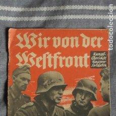 Militaria: REVISTA DER DEUTSCHEN JUGEND. WIR VON DER WELTFRONT.TERCER RECH. 1940. Lote 221127455