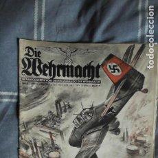Militaria: EDICIÓN ESPECIAL DE LA REVISTA DIE WEHRMACHT DEDICADA A LUFTWAFFE, EDITADA EN BERLIN EN 1938.. Lote 221131617