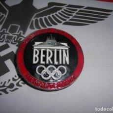 Militaria: PINK ORIGINAL OLIMPIADA DE BERLIN 1936. III REICH. (EXCELENTE BUEN ESTADO). Lote 221476941