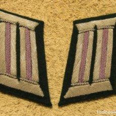 Militaria: LITZEN PARA FELDBLUSE, CHAQUETA DE OFICIAL CASTRENSE DE LA WEHRMACHT, EJERCITO ALEMAN, 2ª G.M.. Lote 221602837