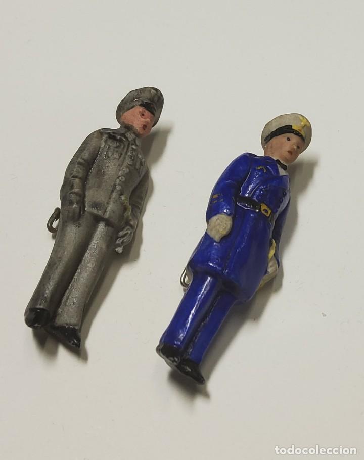 FIGURITAS PATRIOTICAS DE MILITARES DE CERAMICA DE ALEMANIA.SEGUNDA GUERRA MUNDIAL (Militar - II Guerra Mundial)