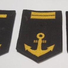 Militaria: LOTE DE GALONES DE LA MARINA DE GUERRA DE JAPON. SEGUNDA GUERRA MUNDIAL ORIGINALES. Lote 221770893