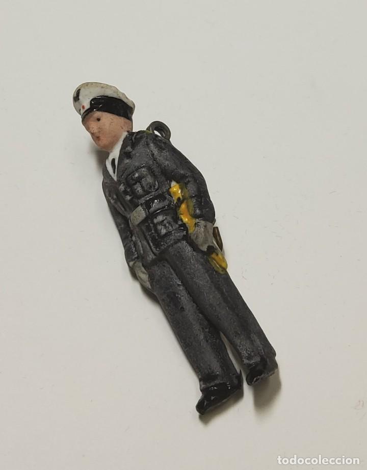 Militaria: Figura de porcelana patriótica de ALEMANIA. SEGUNDA GUERRA MUNDIAL TOTALMENTE ORIGINAL - Foto 2 - 221772877