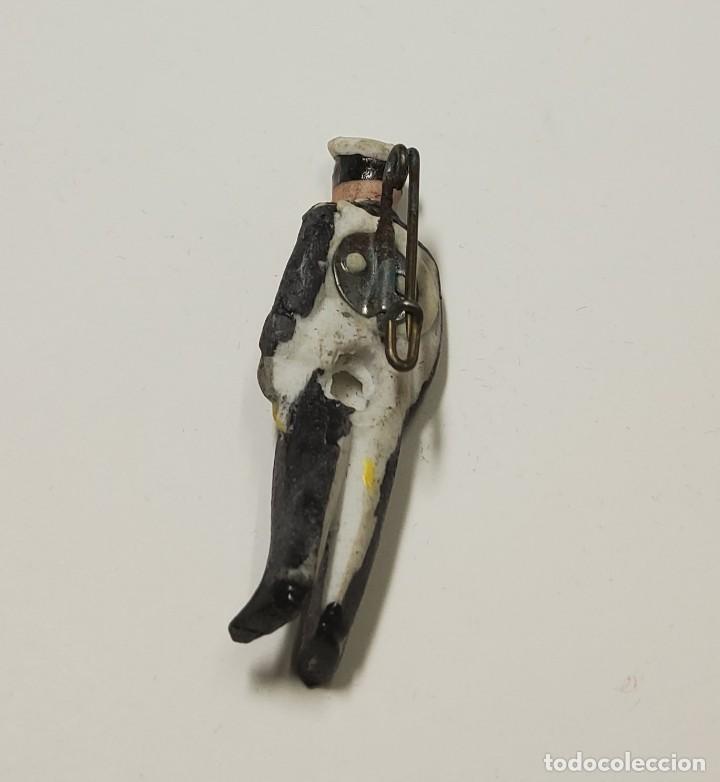 Militaria: Figura de porcelana patriótica de ALEMANIA. SEGUNDA GUERRA MUNDIAL TOTALMENTE ORIGINAL - Foto 3 - 221772877