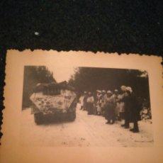 Militaria: BLINDADO ALEMÁN RUSIA FOTO ORIGINAL SEGÚNDA GUERRA MUNDIAL. Lote 221787502