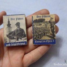 Militaria: * ANTIGUOS 2 LIBRITO ALEMAN ORIGINAL DE II GUERRA MUNDIAL, ALEMANIA. ZX. Lote 222611267