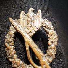 Militaria: MEDALLA ALEMANA ASALTO, EN BRONCE, ORIGINAL. Lote 222877200