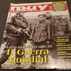 Militaria: SEGUNDA GUERRA MUNDIAL VENCEDORES Y VENCIDOS REVISTA MUY HISTORIA 2013. Lote 224928755