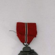 Militaria: MEDALLA NAZI ALEMANA DE LA CAMPAÑA 1941/42 , INVIERNO EN RUSIA CON MARCAJE FABRICA (5). Lote 225034220