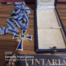 Militaria: CRUZ DE LA MADRE ALEMANA EN ORO. Lote 225118797