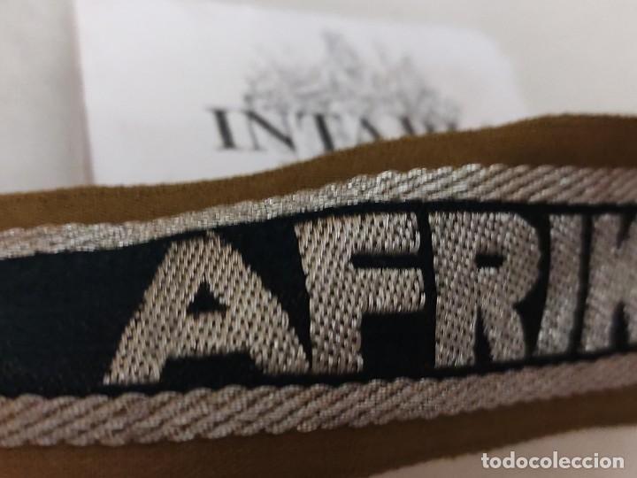 Militaria: Cinta de bocamanga de Áfrikakorps - Foto 2 - 225451062