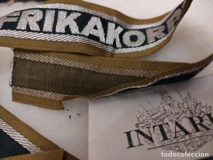Militaria: Cinta de bocamanga de Áfrikakorps - Foto 3 - 225451062