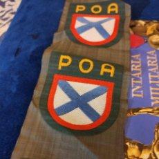Militaria: ESCUDO DE BRAZO DE EJÉRCITO RUSO DE VLASOV. Lote 225824335