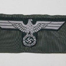 Militaria: INSIGNIA DE GORRA DEL EJERCITO EM/NCO DEL TERCER REICH ALEMAN SEGUNDA GUERRA MUNDIAL. Lote 227755300