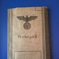 Militaria: ALEMANIA III REICH, WEHRPAS.. Lote 228823250
