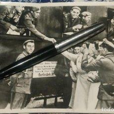 Militaria: FOTOGRAFÍA ORIGINAL DE 1941 DE LA DIVISIÓN AZUL FALANGE. Lote 230526325