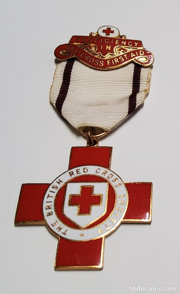 MEDALLA DE LA CRUZ ROJA DEL REINO UNIDO. SEGUNDA GUERRA MUNDIAL (Militar - II Guerra Mundial)