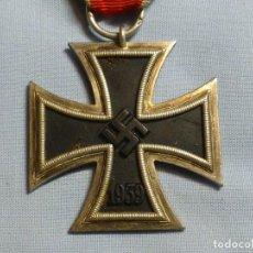 Militaria: CRUZ DE HIERRO DE 2ª CLASE, MARCAJE 7 DE PAUL MEYBAUER (BERLÍN), MAGNÉTICA, 3 PARTES.. Lote 231049210