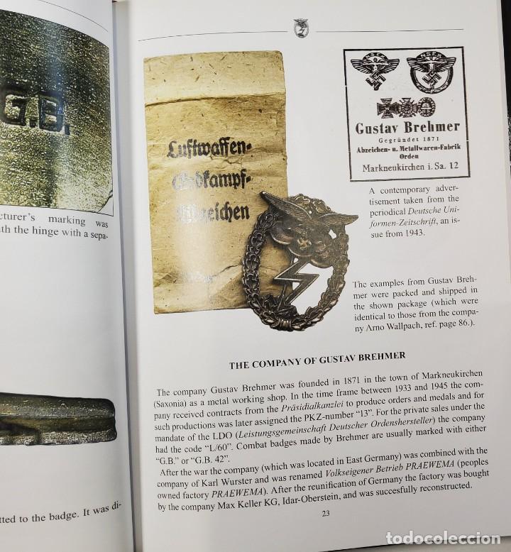 Militaria: LIBRO ESPECIALIZADO.THE LUFTWAFFE GROUND COMBAT BADGE.NUEVO.EN INGLES - Foto 6 - 243880270