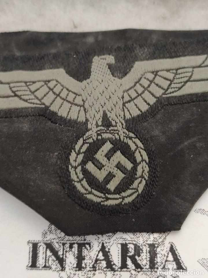 Militaria: Águila de uniforme panzer de pecho - Foto 2 - 234292285
