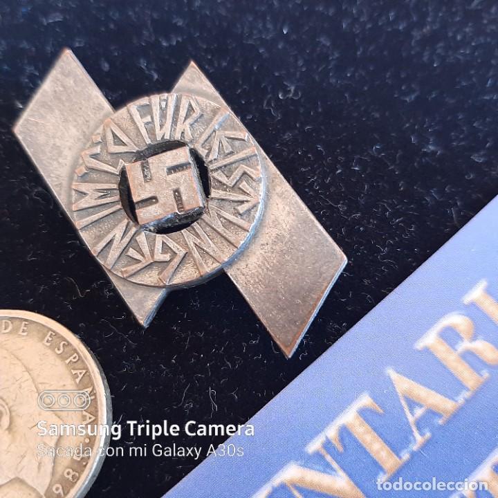 DISTINTIVO DE DEPORTES Y SERVICIOS DE JUNGVOLK HITLERJUGEND EN PLATA (Militar - II Guerra Mundial)