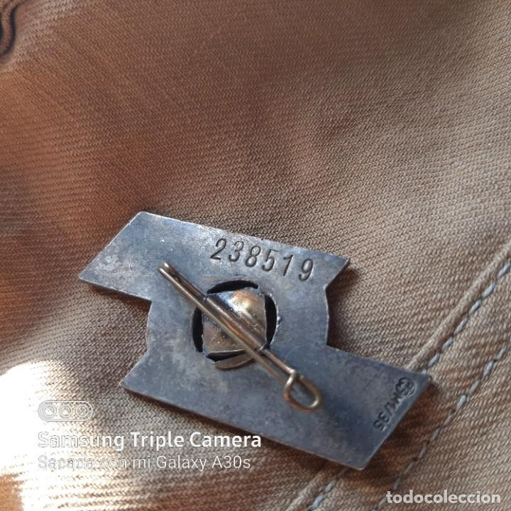 Militaria: Distintivo de deportes y servicios de Jungvolk Hitlerjugend en plata - Foto 3 - 234685335