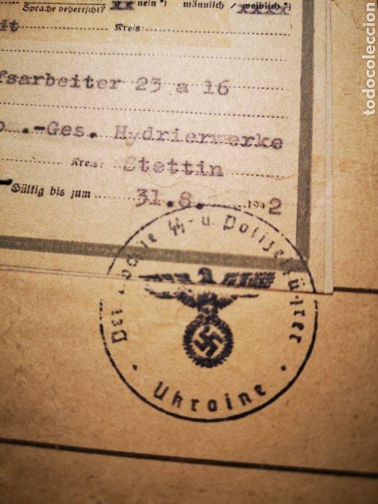 Militaria: Documento prisionero polaco, gestapo ss - Foto 4 - 234903740