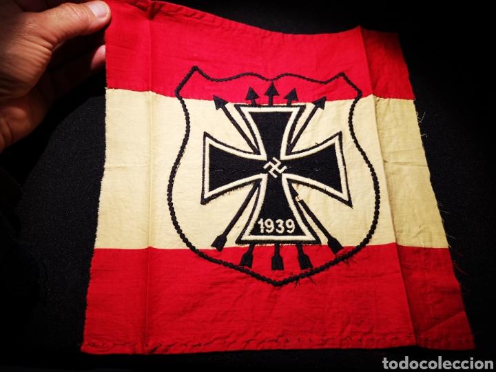 Militaria: Bandera de la División azul - Foto 2 - 234904965
