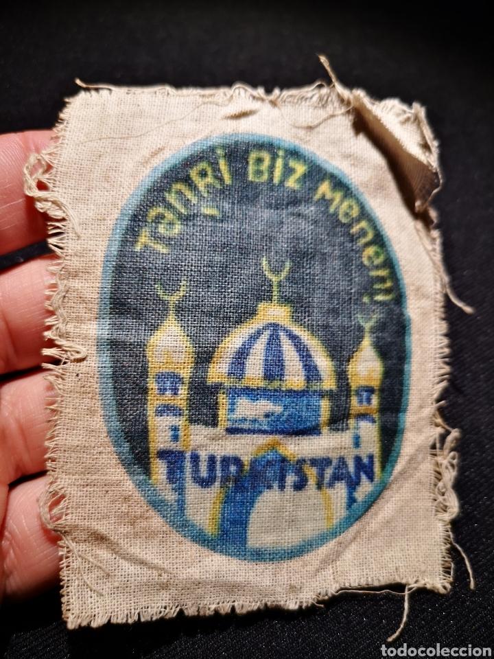 PARCHE VOLUNTARIOS DEL TURKISTAN EN LA WEHRMACHT (Militar - II Guerra Mundial)